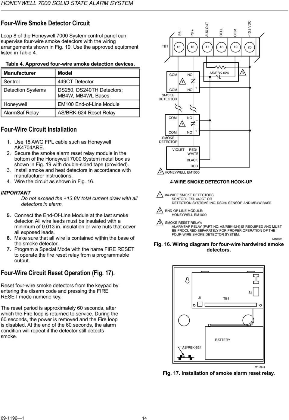 Fb 6481 Esl Smoke Detector Wiring Diagram Get Free Image About Wiring Schematic Wiring