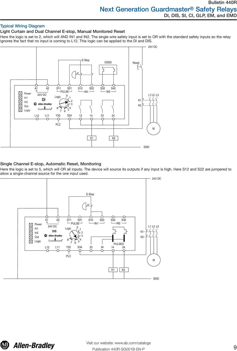 30 Best Of Allen Bradley Safety Relay Wiring Diagram