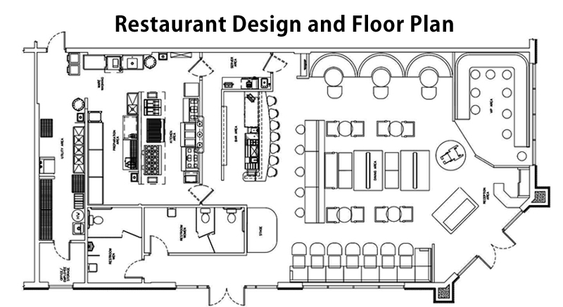 Fantastic Restaurant Layout And Design Guidelines To Create A Great Restaurant Wiring Cloud Picalendutblikvittorg
