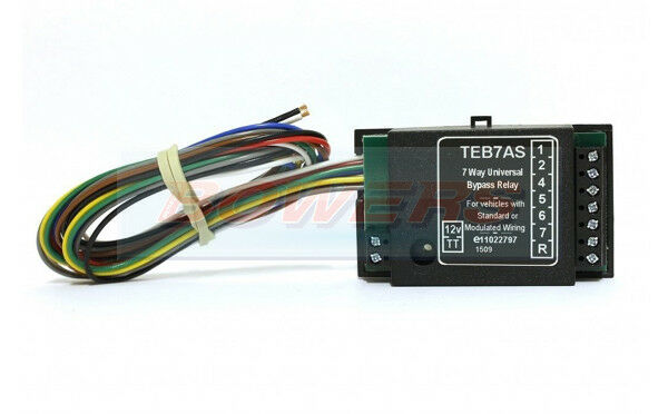Peugeot 7 Way Bypass Relay PCT ZR2500 Towing Interface Inc Fog Cut Out