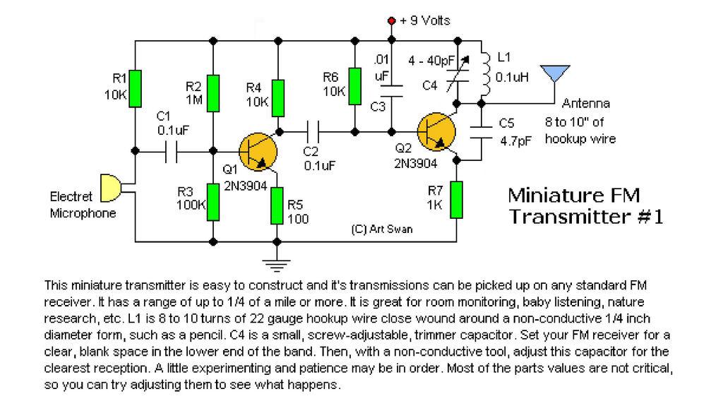 Astounding The Ultimate Fm Transmitter Long Range Spybug 15 Steps With Wiring Cloud Genionhyedimohammedshrineorg