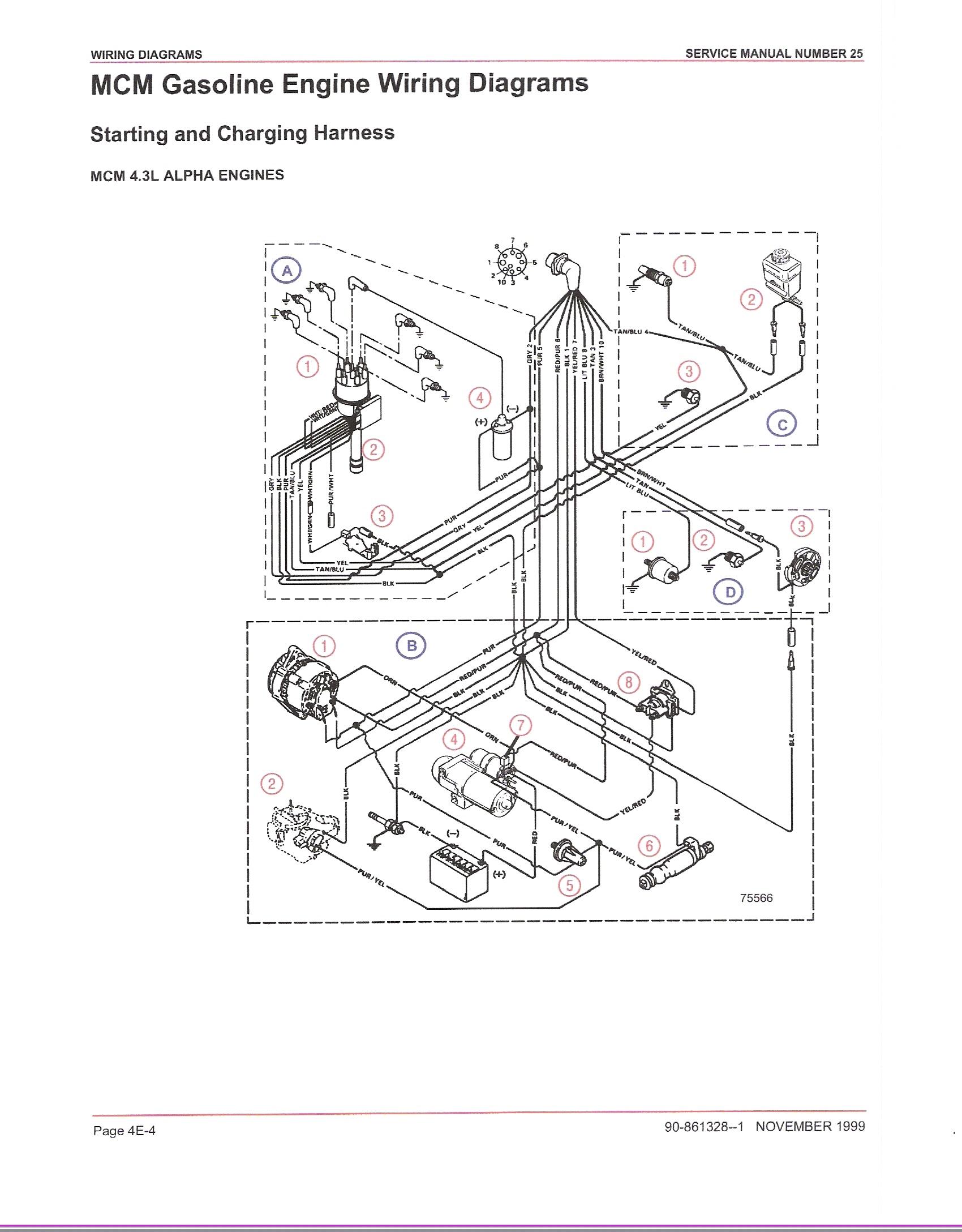 to mercruiser alternator wiring diagram ld 5419  mercruiser 4 3 wiring diagram mercruiser 5 7 wiring diagram  ld 5419  mercruiser 4 3 wiring diagram