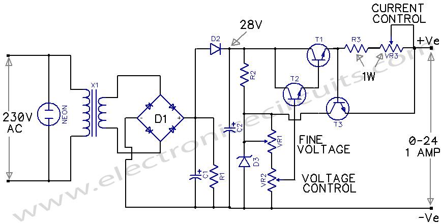 Miraculous Variable Power Supply 0 24V Electronic Circuits Wiring Cloud Xempagosophoxytasticioscodnessplanboapumohammedshrineorg