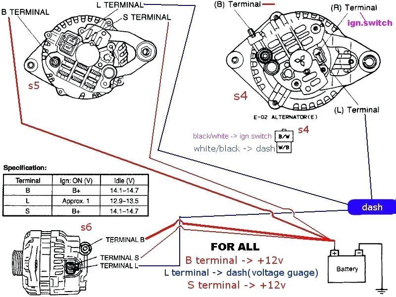 wf5503 3 wire marine alternator wiring diagram free diagram