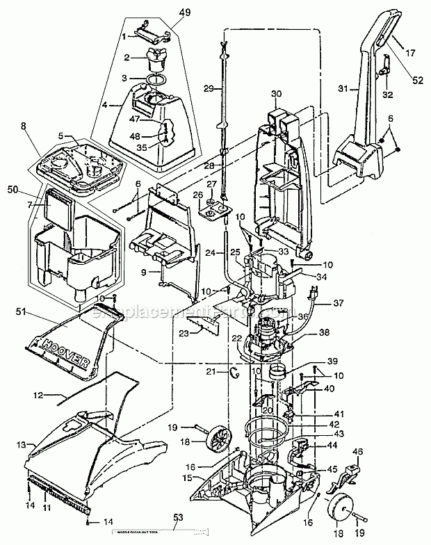 Vacuum Cleaner Schematic Wiring Diagram