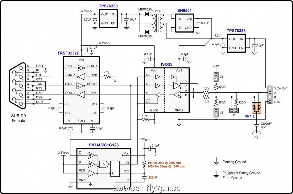 Sy 4917  Rs485 Db9 4 Wiring Diagram Free Diagram