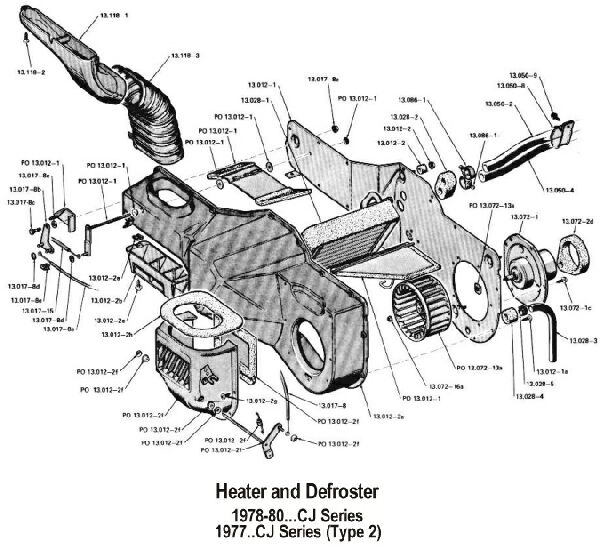 Eb 7420  Cj5 Heater Diagram Free Diagram