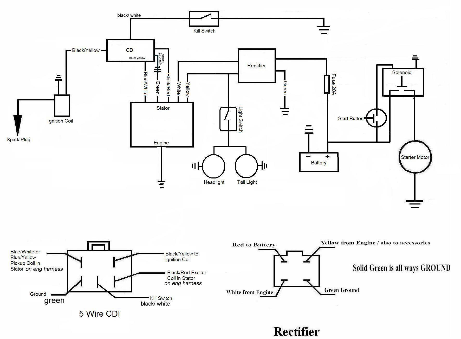 Pleasing 110Cc Wiring Diagram Basic Electronics Wiring Diagram Wiring Cloud Itislusmarecoveryedborg