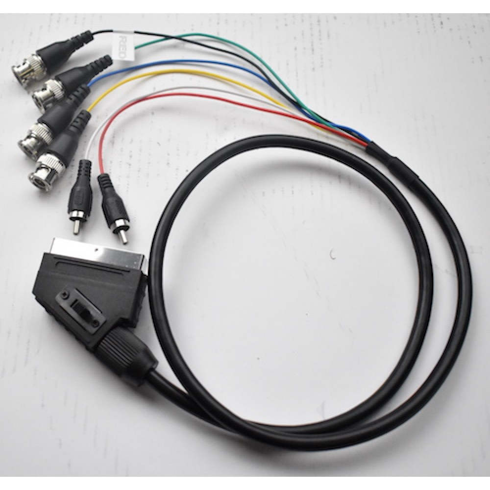 Go 9153  As Well As Bnc Coaxial Cable Connectors Also Vga Cable Wiring Diagram Download Diagram