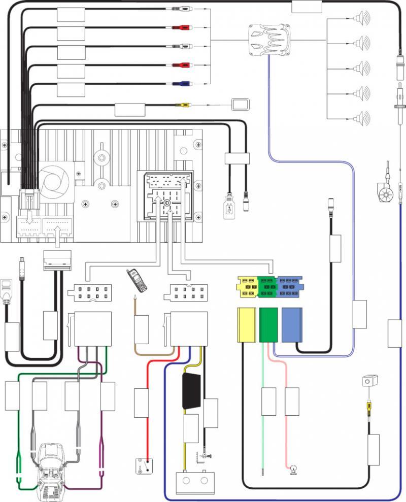 CV_2216] Jensen Head Unit Wiring Diagram Schematic WiringDness Xeira Mohammedshrine Librar Wiring 101