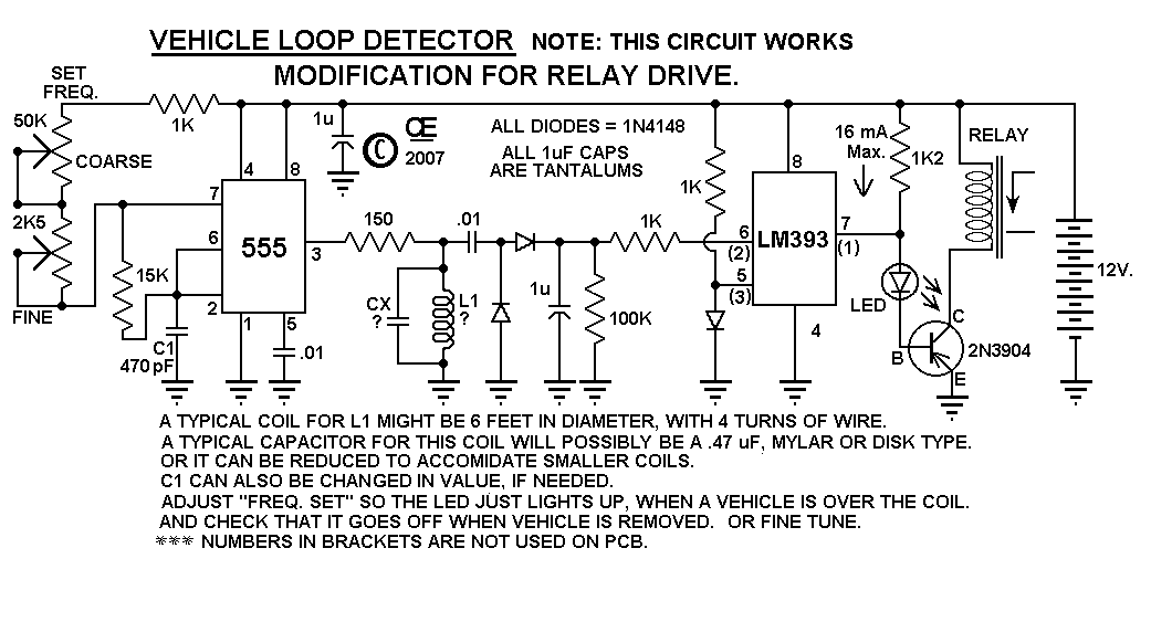Cl 5108  Loop Detector Wiring Diagram Schematic Wiring
