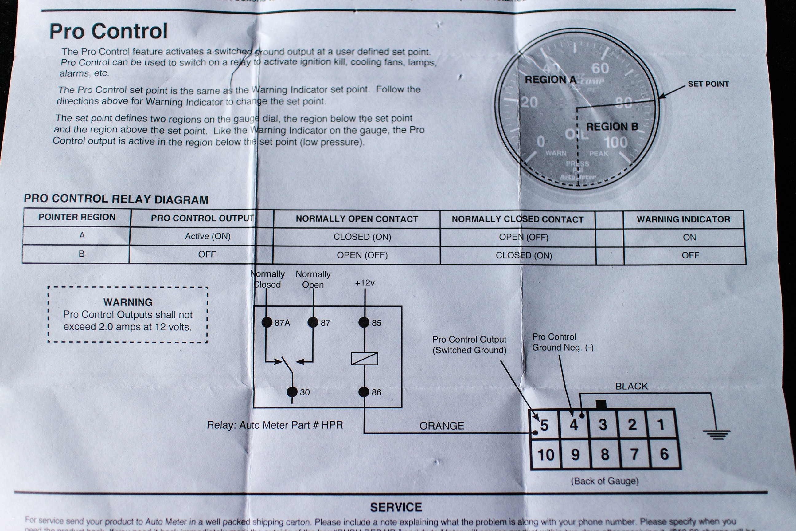 Lb 0069 Autometer Gauges Wiring Diagram Schematic Wiring
