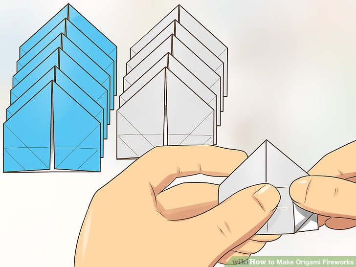 Swell How To Make Origami Fireworks With Pictures Wikihow Wiring Cloud Hemtegremohammedshrineorg