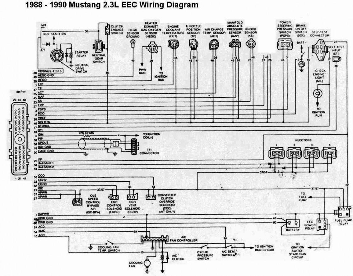 87 Mustang Wiring Diagram
