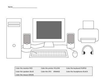 Enjoyable Parts Of A Computer Worksheets Including Laptop Diagram Motasem Wiring Cloud Ittabisraaidewilluminateatxorg