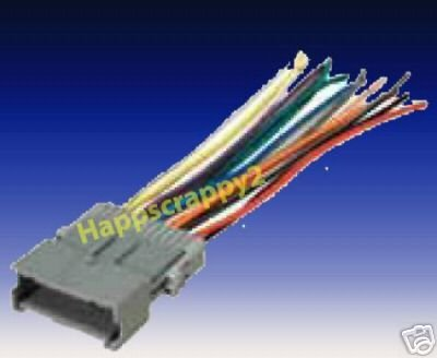 Marvelous Amazon Com Stereo Wire Harness Saturn Ion 04 05 2004 2005 Car Wiring Cloud Filiciilluminateatxorg