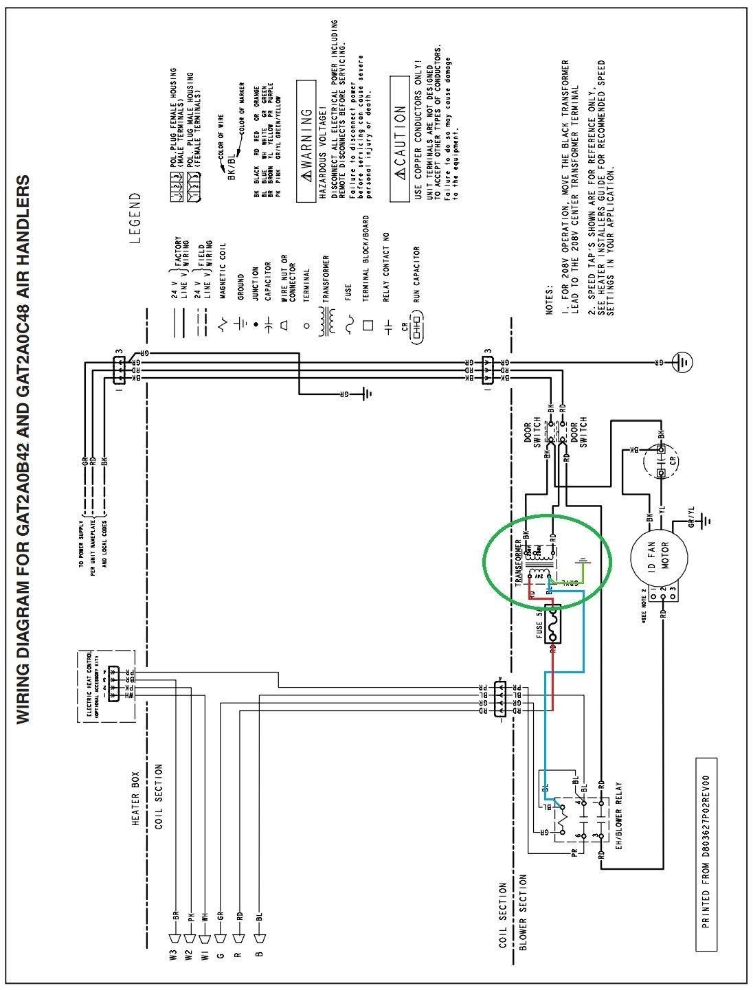 Trane Xe 900 Wiring Diagram