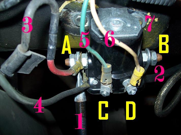 Fine Solenoid Wiring Need Info On What Wires Go Where E G Starter Acc Wiring Cloud Vieworaidewilluminateatxorg