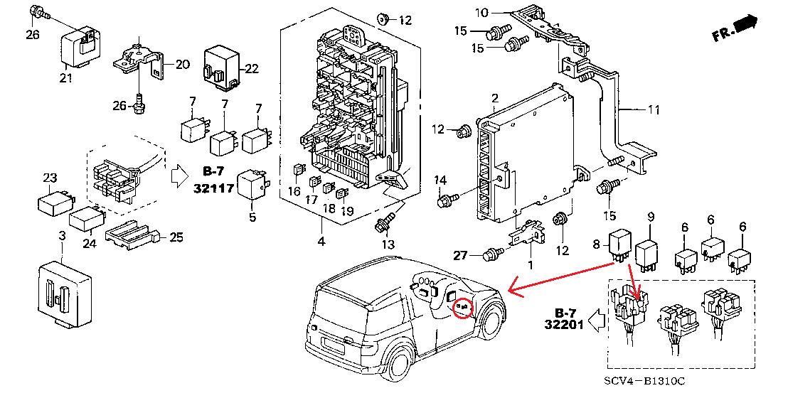 honda element starter wiring diagram  center wiring diagram