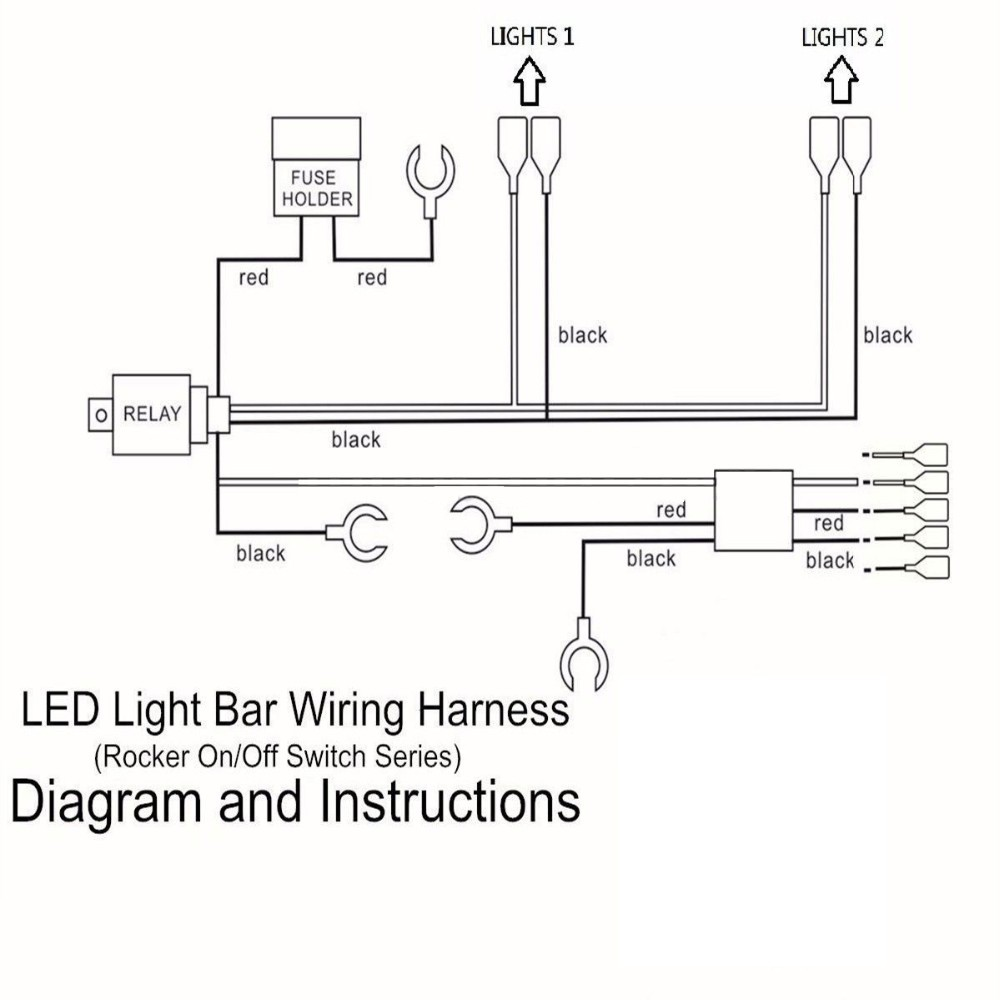 Cool Wiring Diagram 5Pin On Off Rocker Switch Jeep Vehicle Led Light Bar Wiring Cloud Staixaidewilluminateatxorg