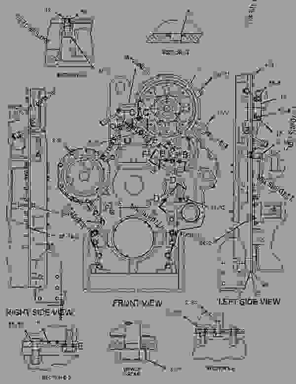rd 6997  3126 caterpillar engine diagram on c15 cat block