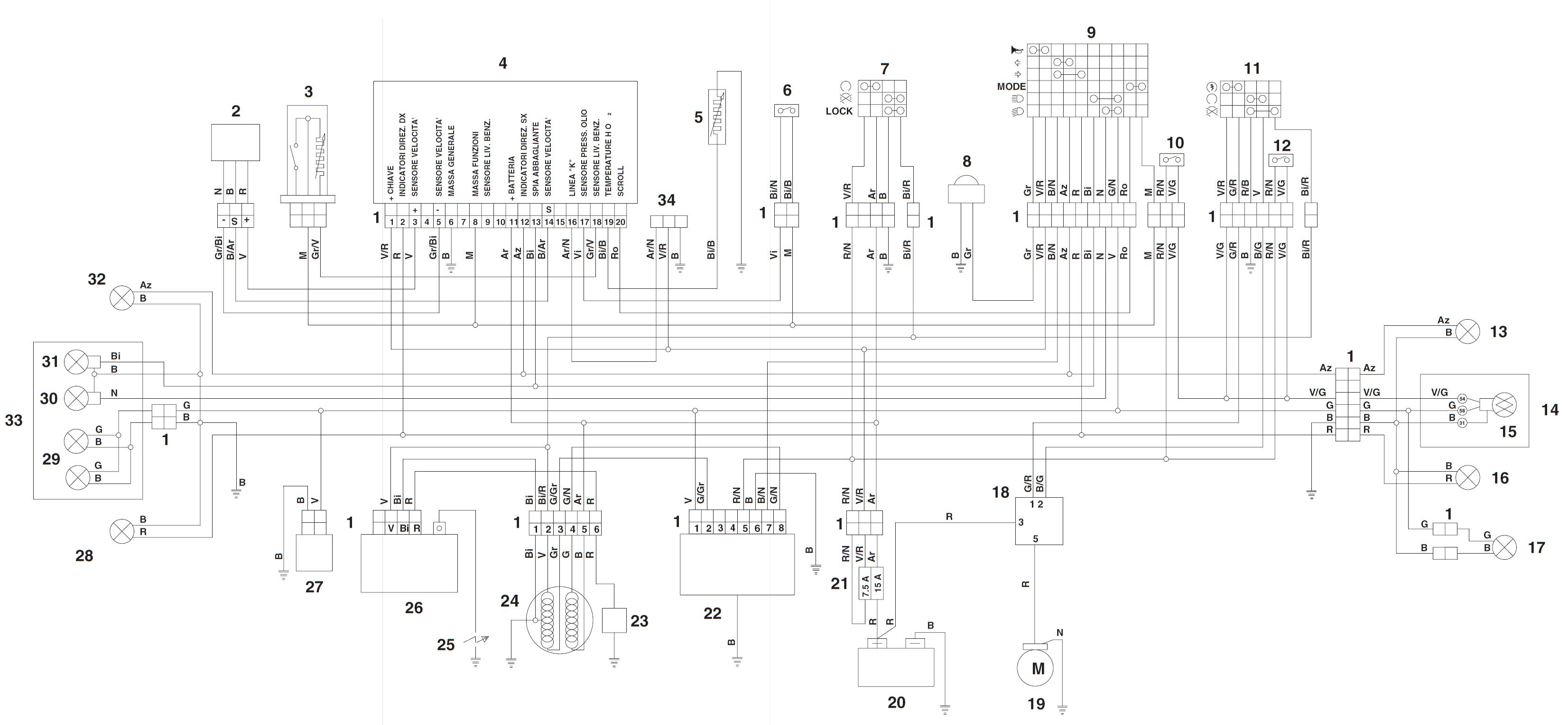 Aprilia Sr 50 Factory Wiring Diagram Mk1 Fuse Box Audi A3 Yenpancane Jeanjaures37 Fr
