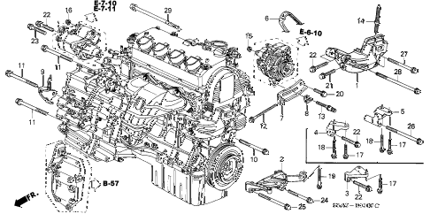 MM_3800] 97 Honda Civic Ex Engine Diagram Download Diagram