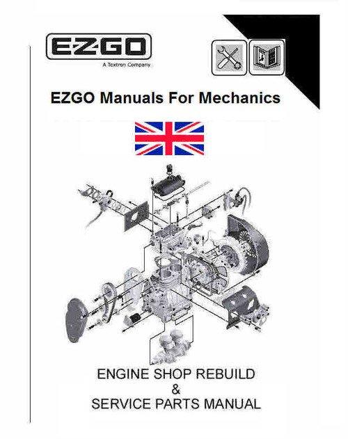 Dy 6730  Ez Go Golf Cart Parts Diagram Schematic Wiring