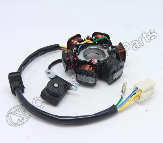 STW14  MAGNETO STATOR  90cc 110cc 125cc Loncin Lifan Engine 5 wire
