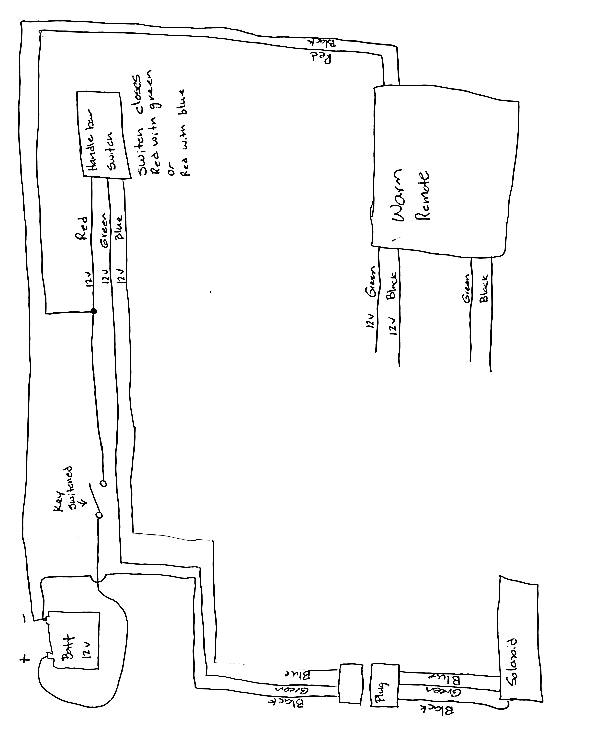 badland winch wire diagram vb 5538  badlandr 69229 wireless winch remote control wiring diagram badland 5000 winch wiring diagram winch remote control wiring diagram