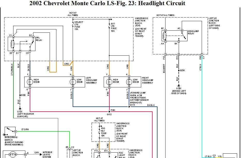 Fine 87 Monte Carlo Wiring Diagram Basic Electronics Wiring Diagram Wiring Cloud Eachirenstrafr09Org