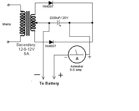 ZW_1859] Simple Circuit Car Battery Charger Circuit Diagram Schematic WiringOnica Wigeg Mohammedshrine Librar Wiring 101