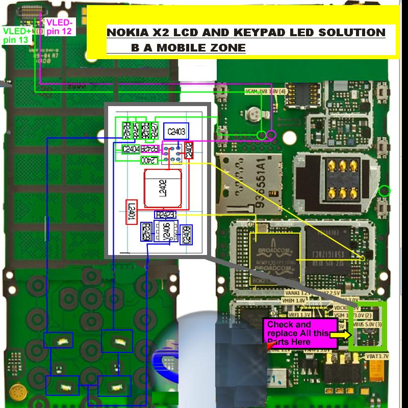 Sk 2257  Nokia Pcb Circuit Diagram Free Diagram