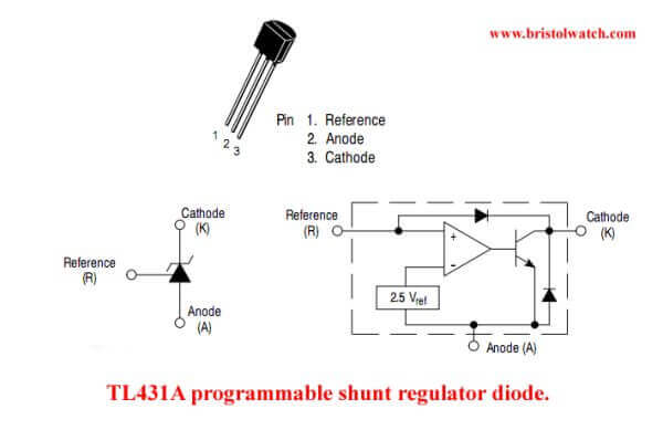 Tremendous Tl431 Shunt Regulator Circuits Wiring Cloud Timewinrebemohammedshrineorg