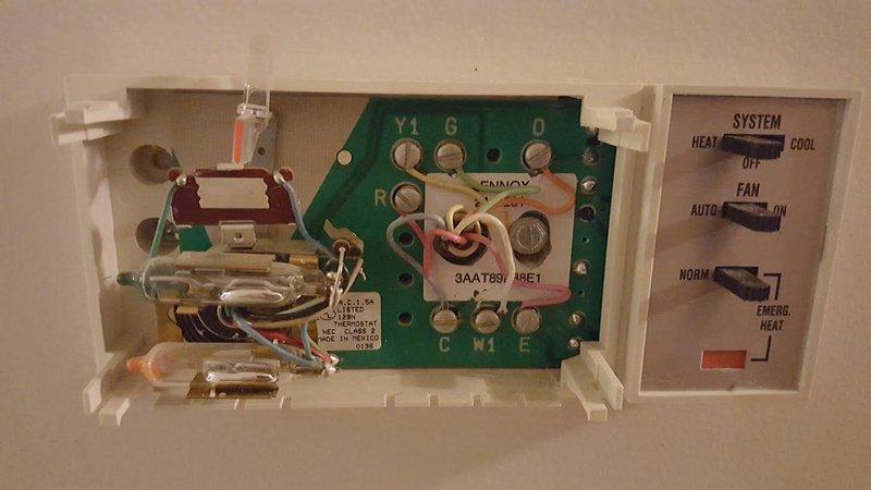 Sensational Heat Pump Thermostat Replacement Hvac Diy Chatroom Home Wiring Cloud Biosomenaidewilluminateatxorg