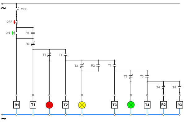 Diagram Wiring Diagram Panel Lampu Full Version Hd Quality Panel Lampu Trackdiagrams Agorasup Fr