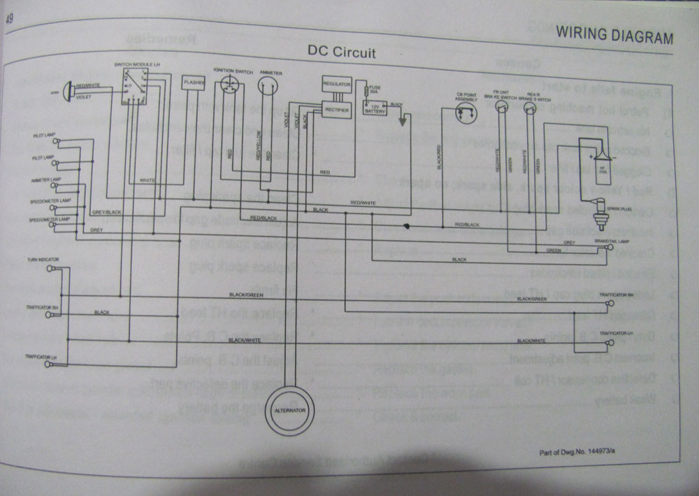 Wiring Diagram For Royal Enfield 350