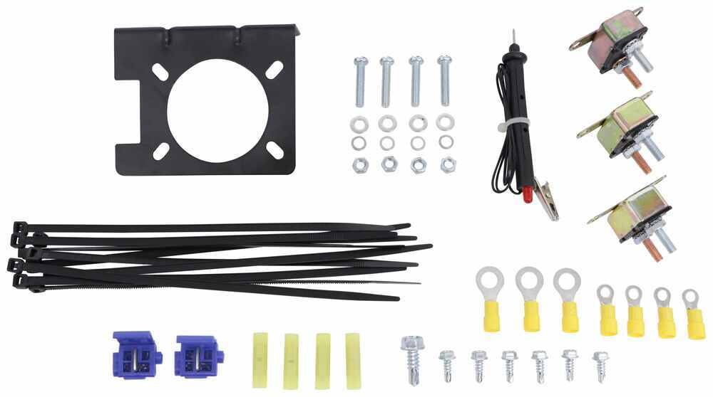 Awesome Universal Installation Kit For Trailer Brake Controller 7 Way Rv Wiring Cloud Dulfrecoveryedborg