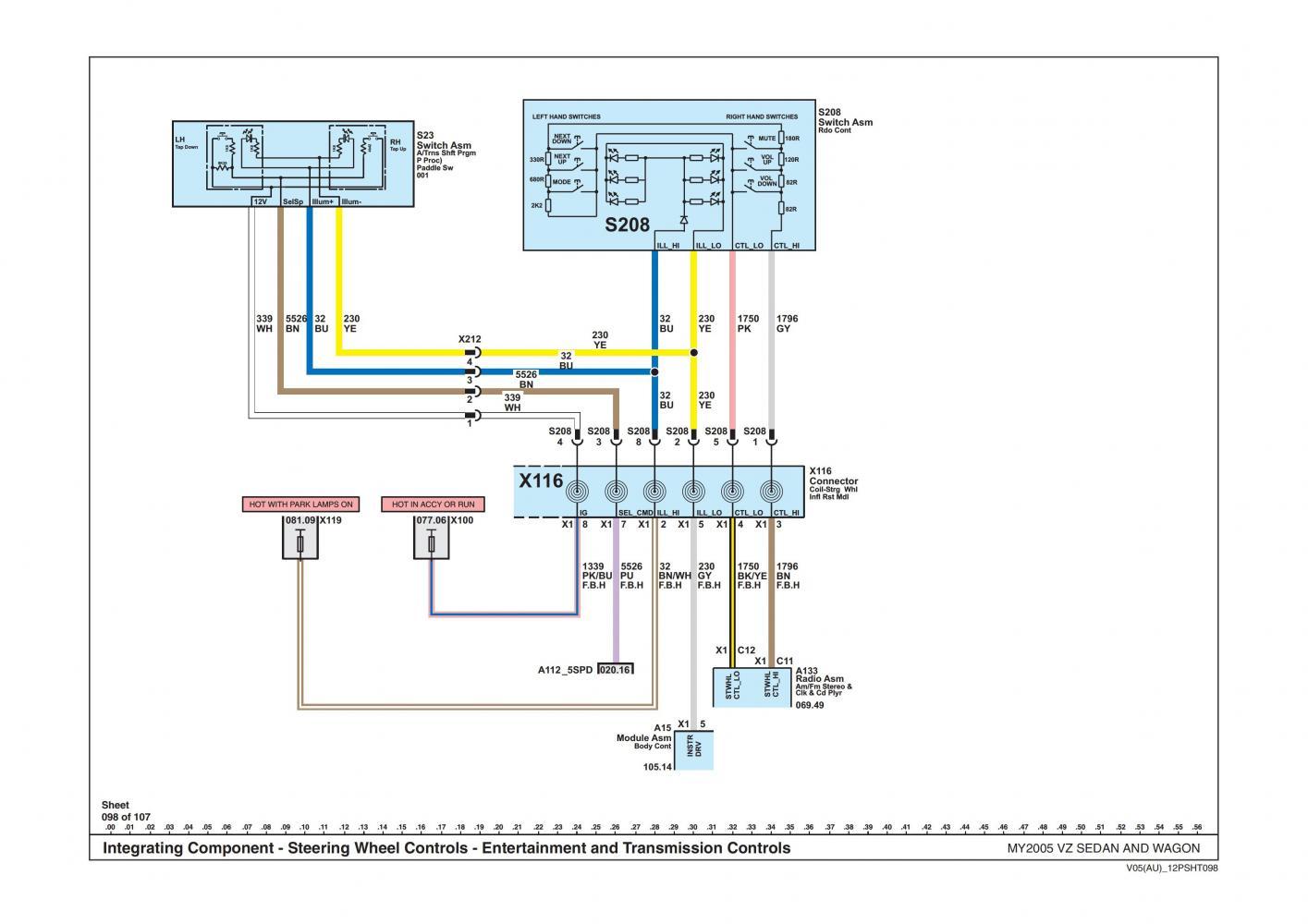 Wondrous Vs Ute Stereo Wiring Diagram Wiring Diagram Wiring Cloud Domeilariaidewilluminateatxorg