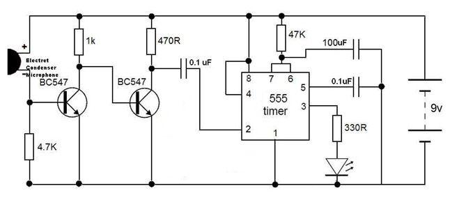 Enjoyable How To Make Simple Clap Switch Circuit W Orking C In 2019 Wiring Cloud Intelaidewilluminateatxorg