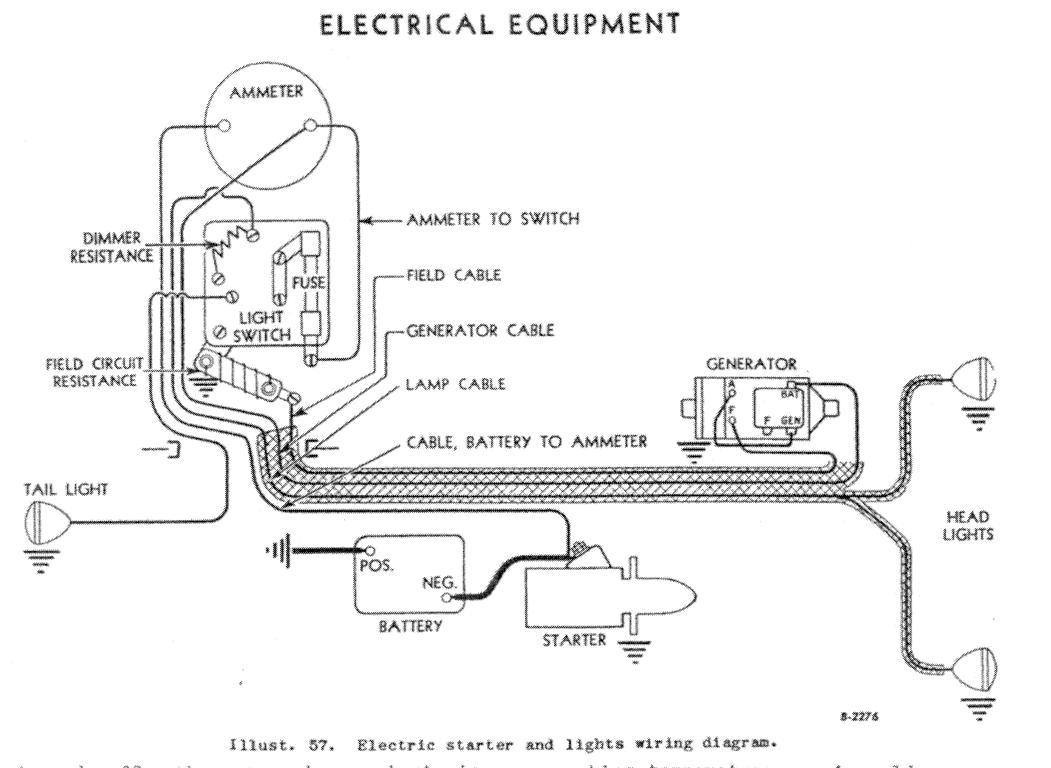 Wiring Diagram For Farmall Super C Tractor