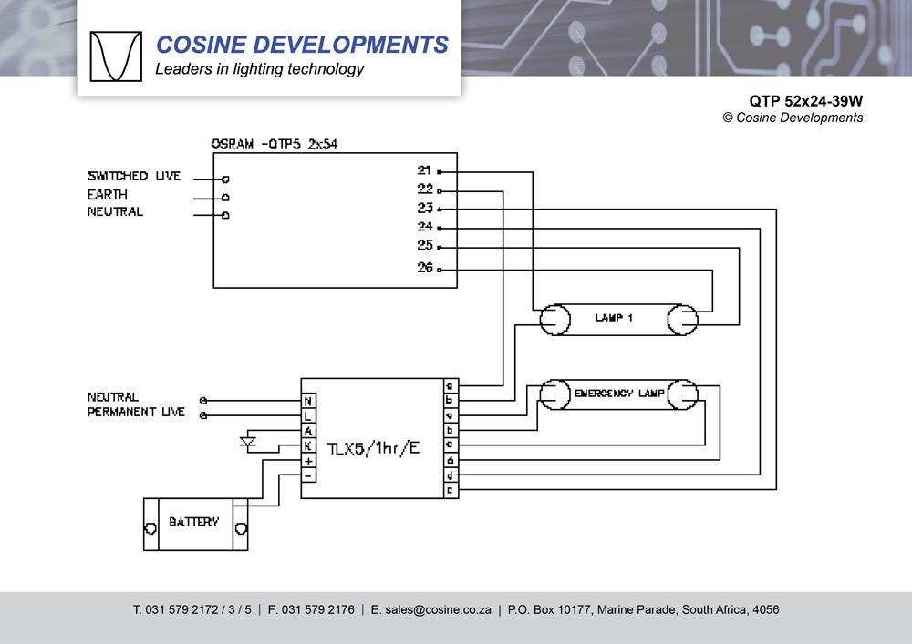 Gx 7526 Osram Electronic Ballast Wiring Diagram Download Diagram