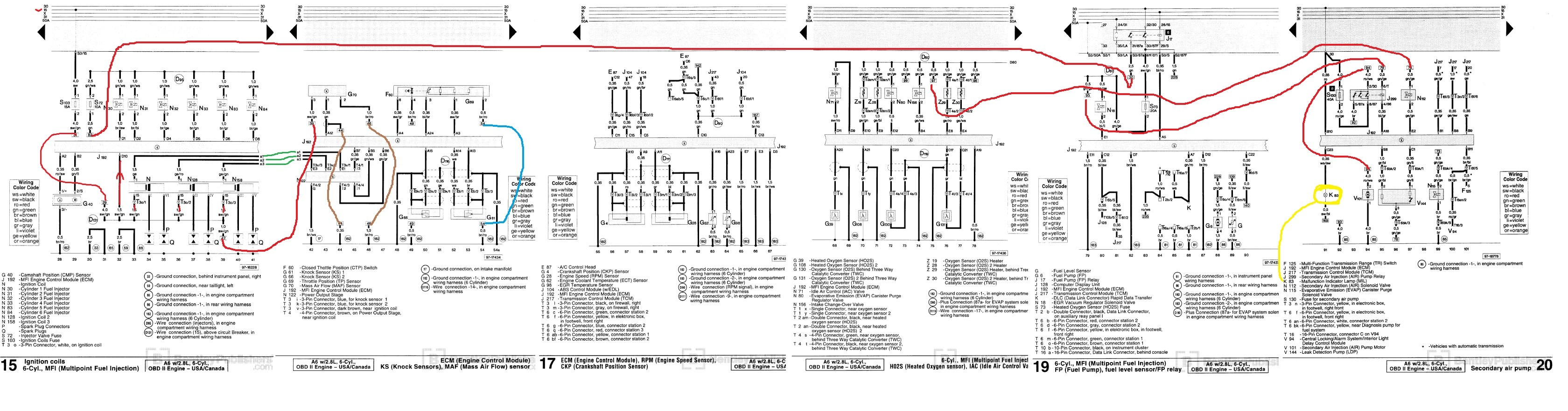 audi wiring diagram a6 wiring schematic for 1999 audi a6 ireng aceh tintenglueck de  wiring schematic for 1999 audi a6