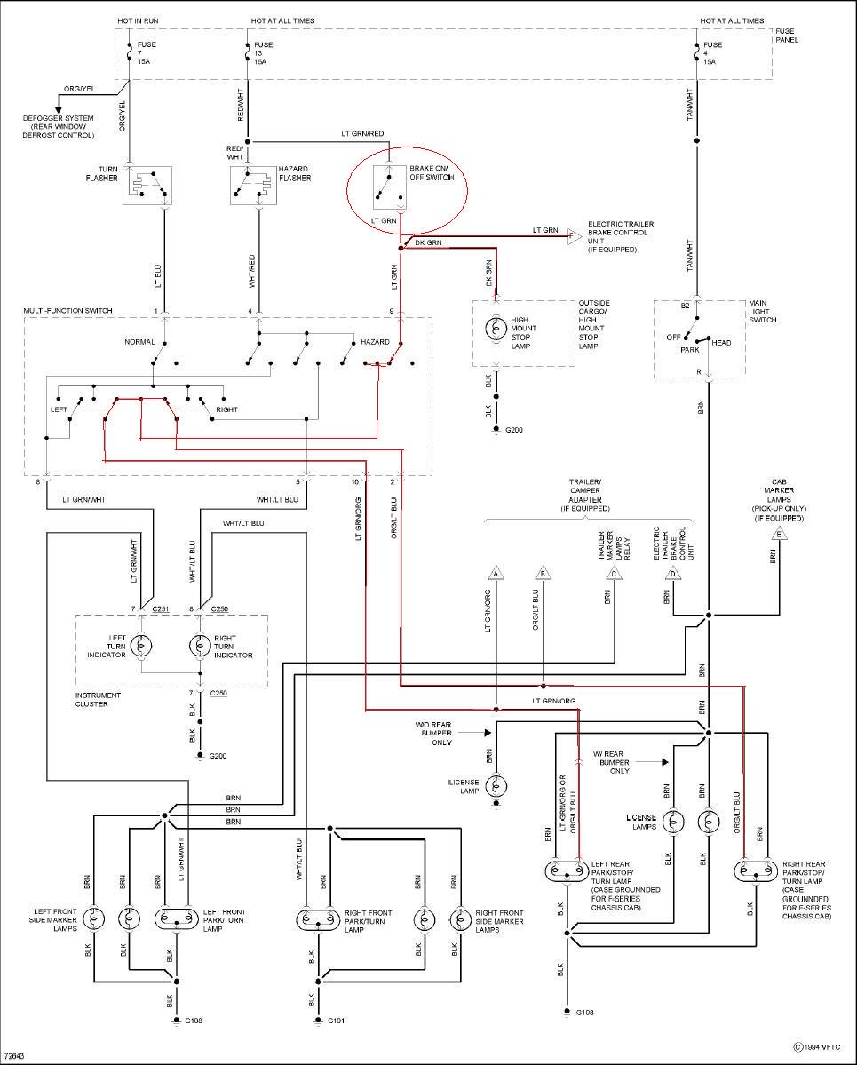 Superb F150 Brake Light Wiring Diagram Basic Electronics Wiring Diagram Wiring Cloud Orsalboapumohammedshrineorg