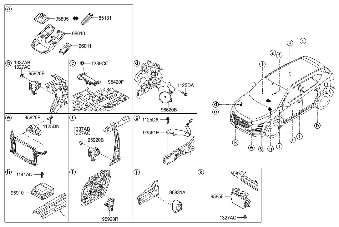 Wx 5964 Hyundai Tucson Parts Diagram Free Diagram