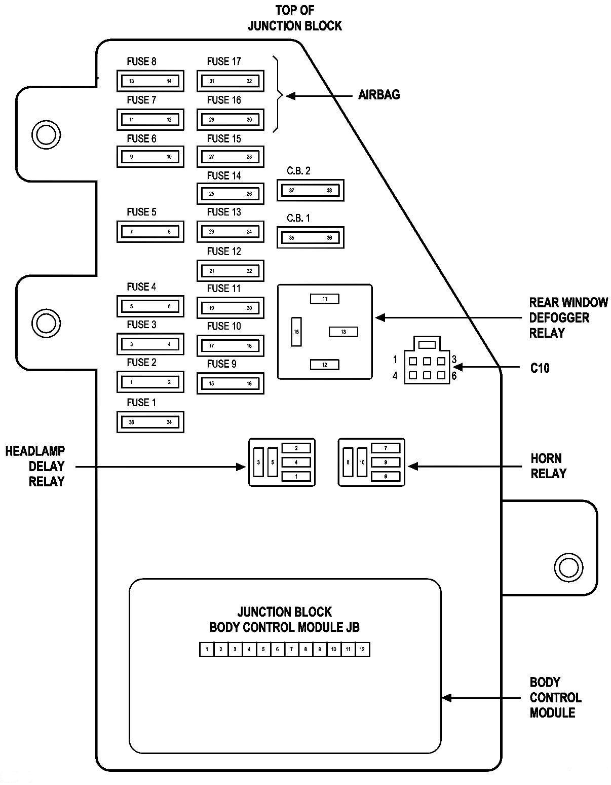 2004 chrysler sebring fuse box diagram yw 1865  2000 300m fuse box free diagram  yw 1865  2000 300m fuse box free diagram