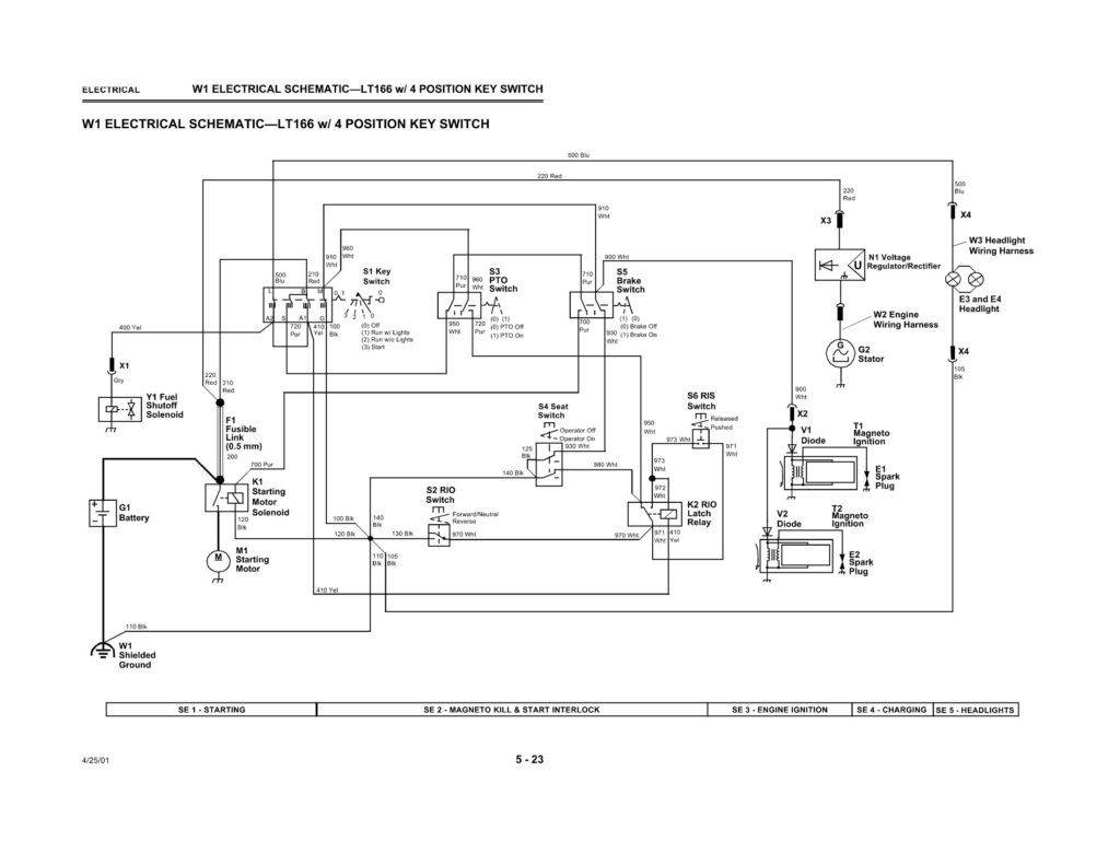 Wiring Diagram For Lt155