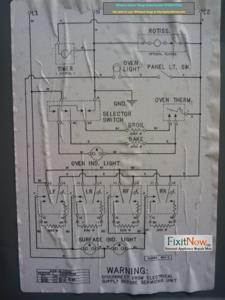 Ex 8132 Diagram Range Wiring Whirlpool