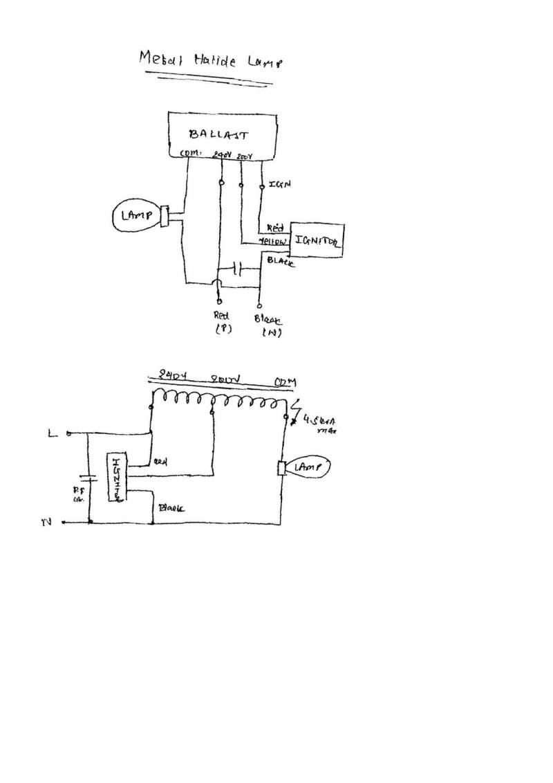 Philips Advance Metal Halide Ballast Wiring Diagram