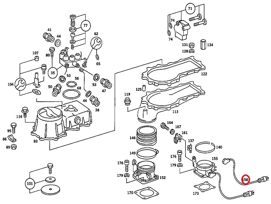 Mercedes C300 Parts Diagram